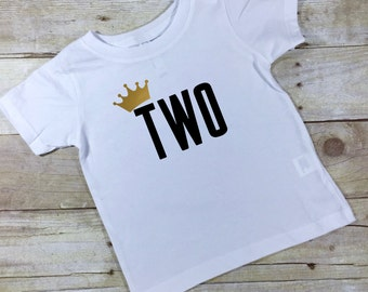 Second Birthday Shirt, Baby Boy 2nd Birthday Shirt, Gray Toddler Tee, Second Birthday Outfit, Toddler Birthday Gift, Grey Shirt