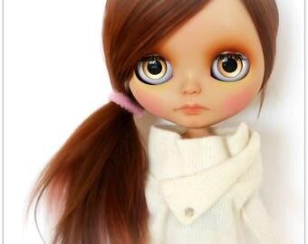 OOAK Custom Blythe Doll Hendrix - Alpaca Hair - Tan Skin - By Angel~Lily - (Layaway Available)