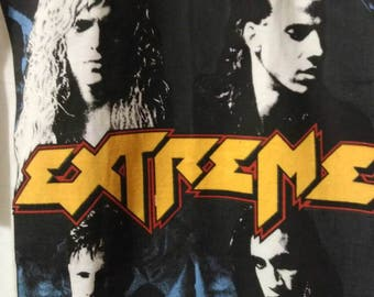 Extreme , vintage t shirt 89 , fantastic, stock fund. superb printing, object out of time. Size XL