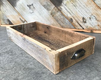 Rustic Barnwood Serving Tray