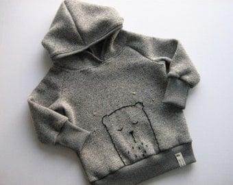Kids Hoodie hooded Hoodie pullover knit sweater with hood