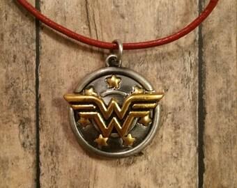 Wonder Woman Charm Necklace