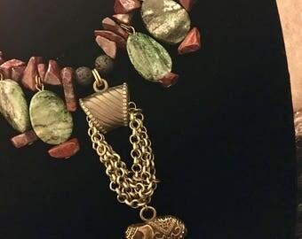 Jasper Semi-precious Gemstone Necklace