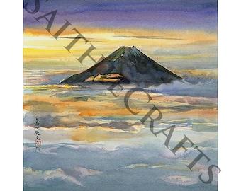Glory - A4 Japanese Watercolour Print - Original by Yuko Sekiguchi C14