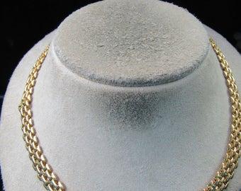 Vintage Goldtone Chain Link Necklace