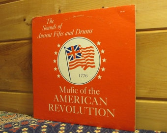 VERY RARE! The Nathan Hale Ancient Fifes & Drums-The Sounds Of Ancient Fifes And Drums-Music Of The America Revolution - 33 1/3 Vinyl Record