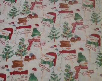 SALE.......Alexander Henry Christmas  Fabric 1 Yard Cotton
