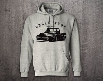 Trucker hoodie, Truck Life hoodies, Ford hoodies, Unisex hoodies, Classic trucks hoodies, classic Cars t shirts, Funny t shirt by Motomotive