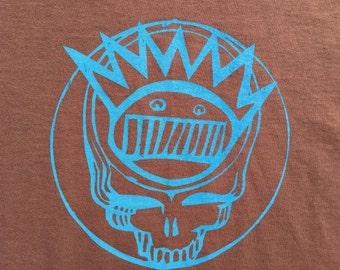 Ween Shirt-Brown Grateful Dead Steal Your Boognish-Sizes S M L XL 2XL