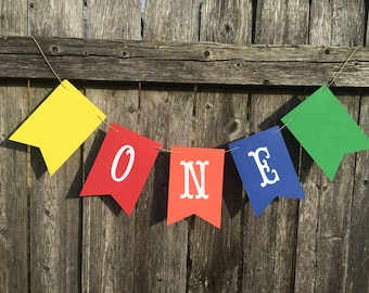 One banner. High chair banner. I am one banner. First birthday banner. Boy 1st birthday banner.