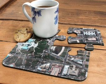 US Aerial Image Table Coasters