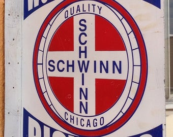 Vintage Schwinn Stingray Bicycle Sales Sign