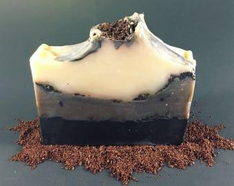 Peppermint Espresso Soap