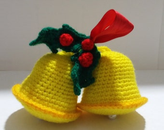 Christmas Bell-Christmas ball ornaments | Crochet