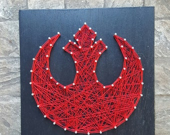 Rebel Alliance String Art Home Decor