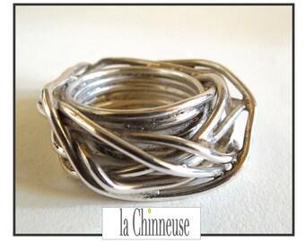 VINTAGE silver ring / Vintage silver ring / ring contemporary silver.