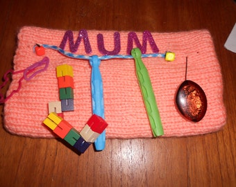 sensory twiddlemuff  may be used for mothers day gift