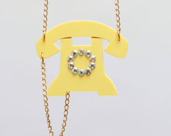 Acrylic necklace jewellery