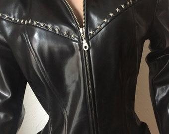 Thierry Mugler, vinyl jacket