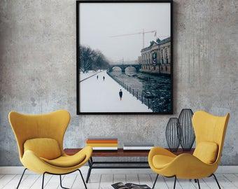 "Berlin Photography, ""Berlin Lovers"" Print Wall Art Decor Gift Apartment Art Travel"