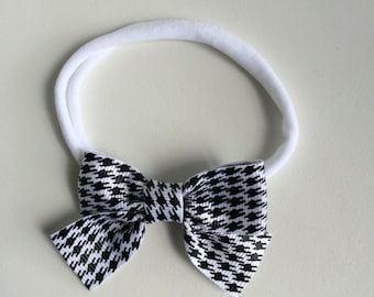 Baby, Toddler, black and white Bow