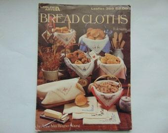 Leisure Arts 389 Bread Cloths 9 Designs Cross Stitch