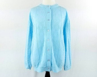 Light blue cardigan | Etsy