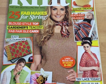 Let's Knit magazine issue no 78 April 2014