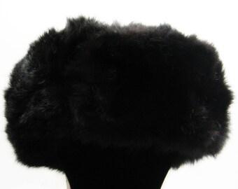 Hat, ear-flap, rabbit, MLP Lithuanian SSR, antiques, retro USSR