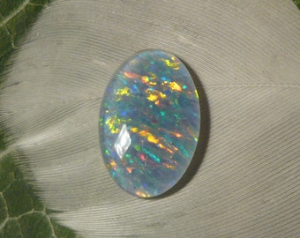 Reclaimed Vintage Opal Triplet, 1.7ct (Slightly Damaged)
