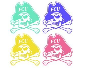 East Carolina University (ECU) Sticker/Decal