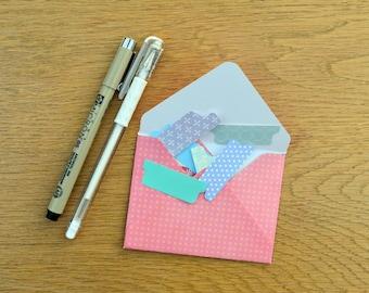 Micron Pen, White Gel Pen and Tab set