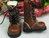 Boots (3 colors) forPpinkydolls/ Blythe/ Pullip/ Lalaloopsy/ Hujoo/ Obitsu/ Licca/ Momoko/ Dal or 1/6 scale dolls .