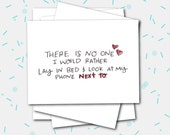 Greeting Cards Celebrating Love - There is no one I would rather lay in bed + look at my phone next to.