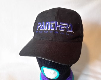 Vtg Carolina Panthers Eastport snapback hat Cap Cam Newton