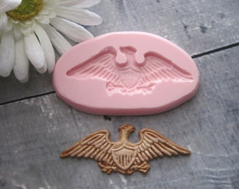 Eagle Silicone Mold - Eagle Mold - Flexible Eagle Mold - Silicone Mold - Food Safe Mold - Food Grade Mold - Fondant Mold - Mold - Mould