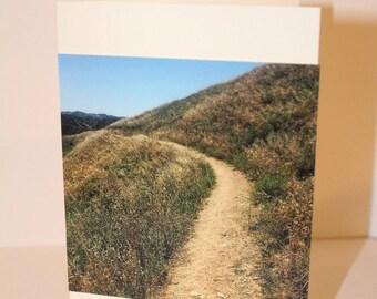 Redlands Path Adventure Cards- Original Photography, Handmade Cards