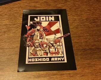 Join Hoshido 4x6 print