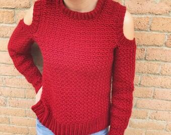 Crochet sweater pattern- Crochet pattern- sweater pattern-winter- crochet sweater-crochet top pattern