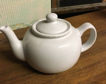 Small White Teapot