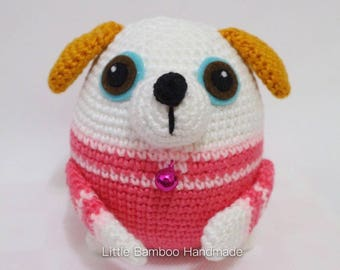 PATTERN - Dog The 12 Zodiac Egg - Crochet Pattern, pdf