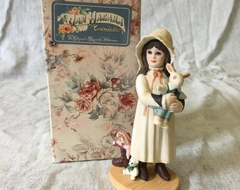 Vintage Jan Hagara Limited Edition Figurine, Brooke