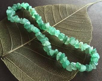 Green Aventurine Anklet, Green Aventurine Ankle Bracelet