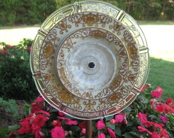 Vintage Noritake Plate Garden Flower