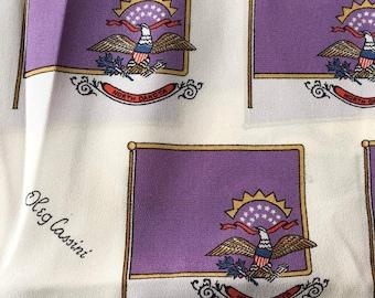 Oleg Cassini Vintage silk scarf