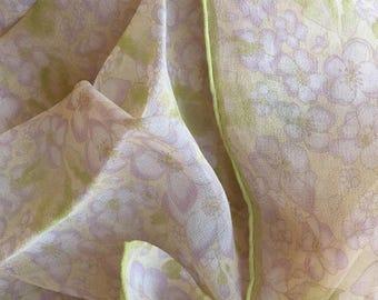 Banana Republic Silk chiffon scarf