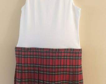 Childrens Royal Stewart Kilt and Vest Combo 2 - 3 years Free Postage