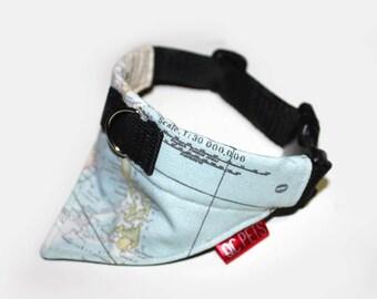 Adventurer Bandana Collar Custom Made - by QC Pets