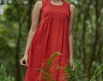 Firefly Crepe Dress