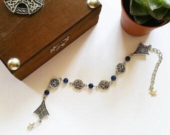Elven Bracelet: Countess Maelys (Lapis Lazuli)